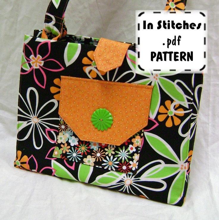 Easy Handbag Pattern : handbags