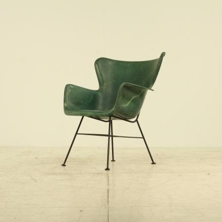 Fiberglass chair luther conover mid century modern pinterest