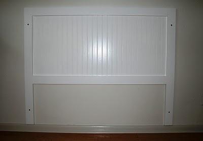 Beadboard headboard bedroom inspiration pinterest