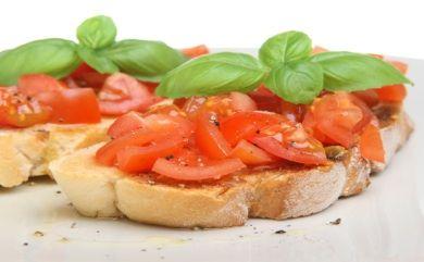 White Bean Bruschetta | Food: Vegan/Vegetarian | Pinterest