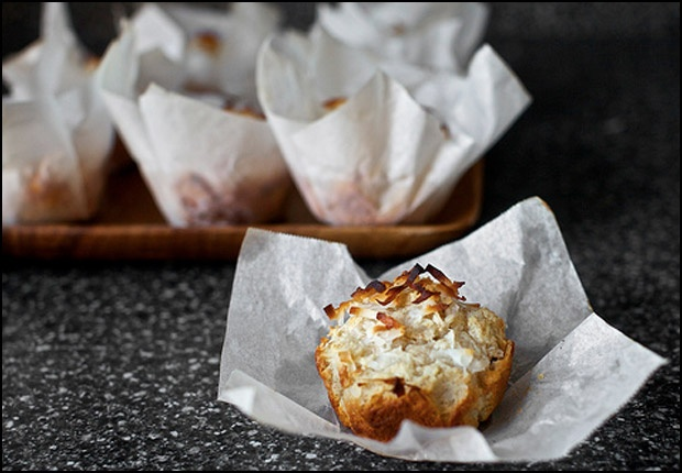 Double coconut muffins: Will make these if I can hunt down some virgin ...