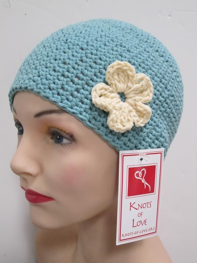 Crocheting Hats For Cancer Patients : Knots of Love- crochet/knit hats for cancer patients.