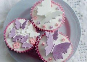 Butterlfly Cupcakes by Great British Bake Off finalist Miranda Gore ...