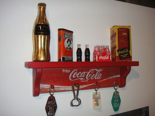 Coca Cola Shelf Beautiful Homes Pinterest