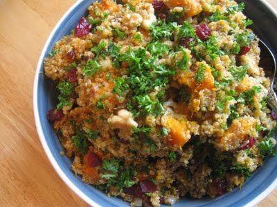 Recipe Buttercup Squash Quinoa Salad Interesting recipe - even if they ...