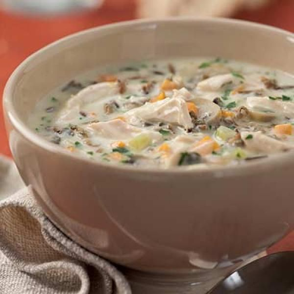 Cream of Turkey and Wild Rice Soup | http://aol.it/18HwHrr