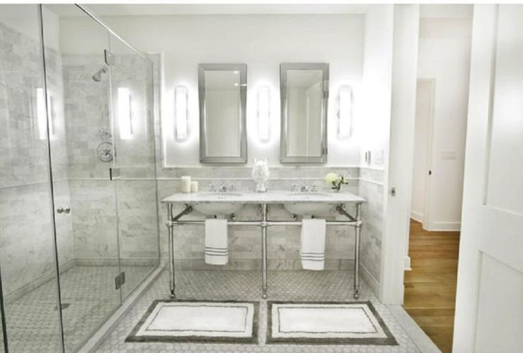 From houzz master bathroom decor pinterest for Small bathroom ideas houzz