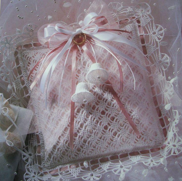 Ring Bearers Pillow CROCHET Pattern NEW Wedding