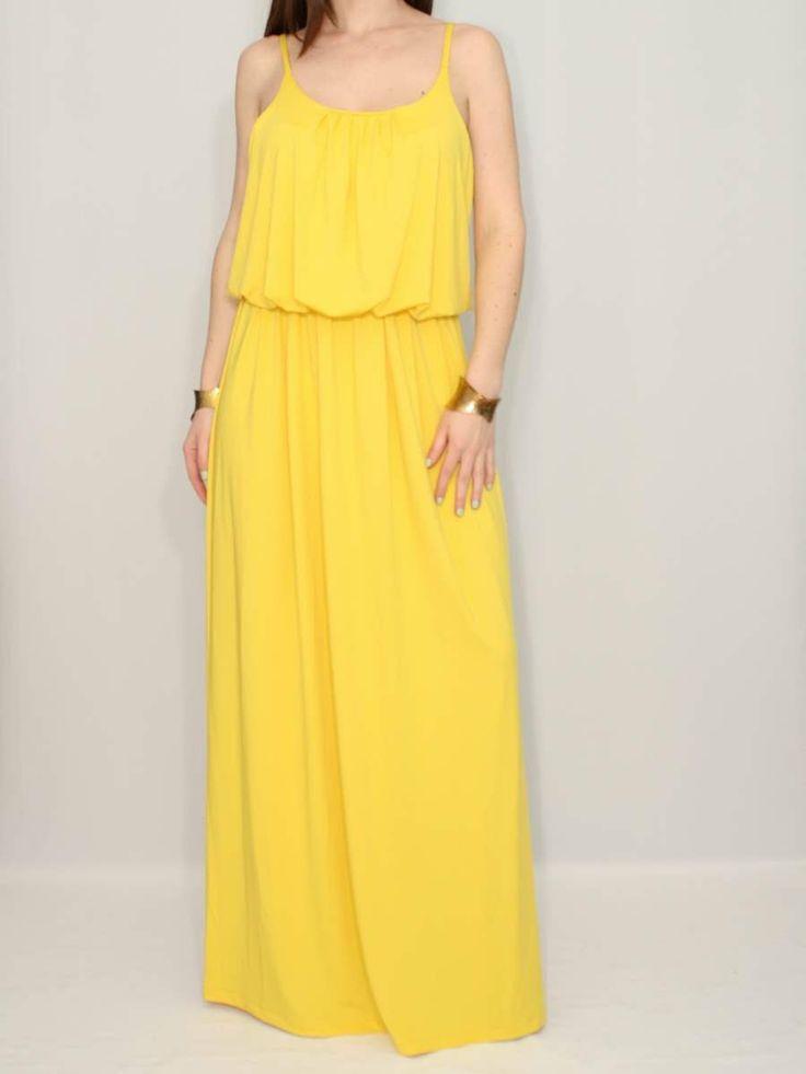 Yellow Summer Bridesmaid Dresses 25