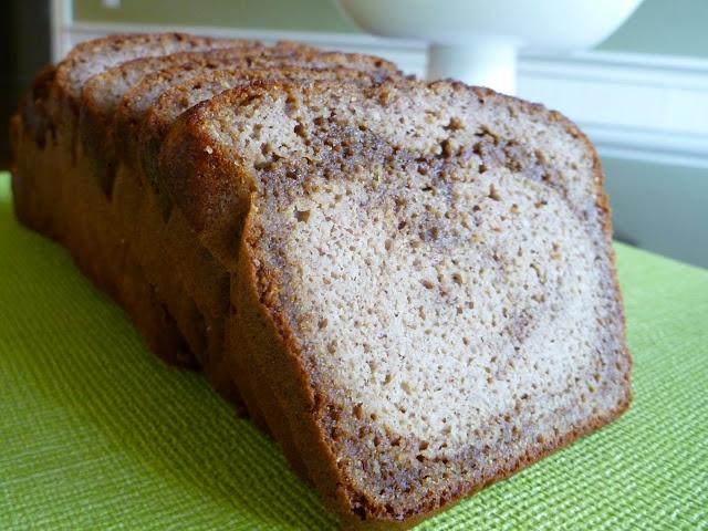 Cinnamon Swirl Bread (grain free) | breads/ muffins | Pinterest