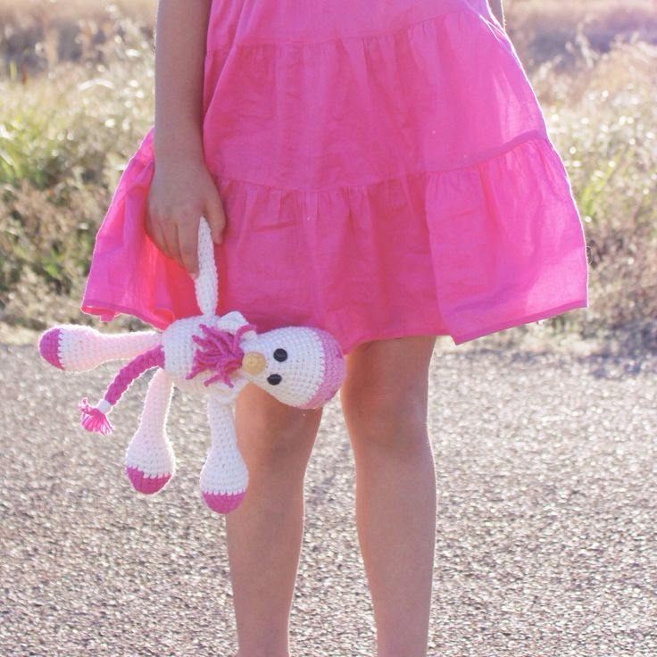 Crochet Unicorn Doll : Unicorn+amigurumi+doll+by+2daintyflowers+on+Etsy,+$26.00