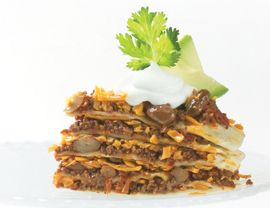 Tortilla Torte | Vegetarian Recipes | Pinterest