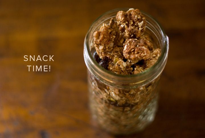 granola-crusted nuts with dried cherries | Hey sweet thang | Pinterest