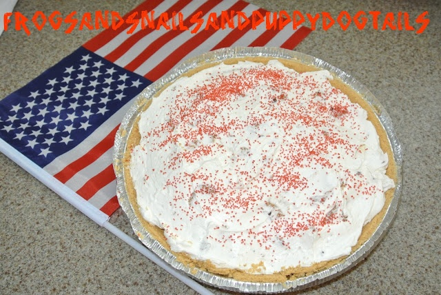 4th of july big cookie