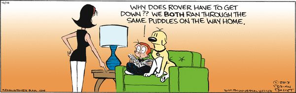 Red and rover newspaper comics pinterest