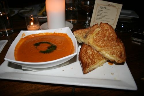 Grilled Cheese And Tomato Bisque At Slightly Oliver (NYC)