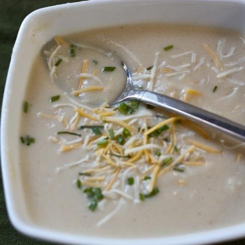 Cauliflower Cheddar Soup | Vitamix | Pinterest