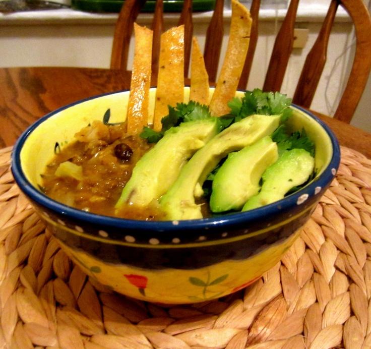 vegan black bean and butternut squash soup