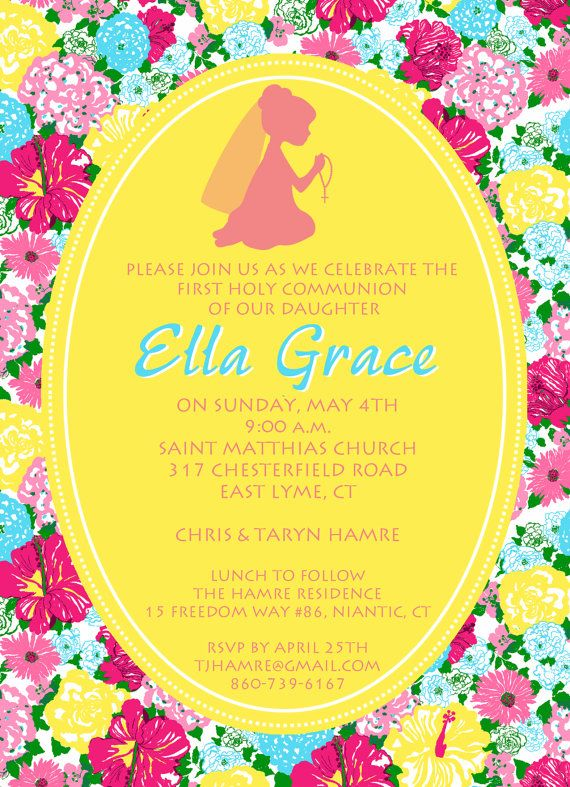 First Holy Communion Invitations is perfect invitations example