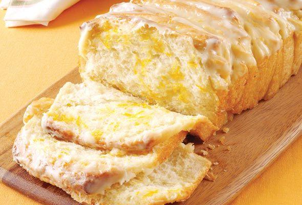 Lemon-Scented Pull-Apart Coffee Cake
