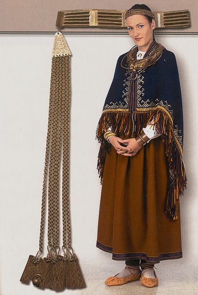 Latvia, archaeology  costume 12th century