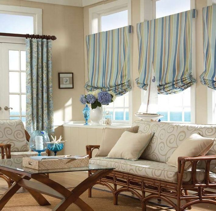 Cape cod interior decorating window treatments cape cod for Interior decorator window treatments