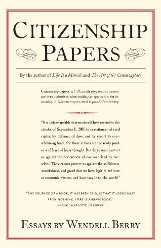 Papers: Essays by Wendell Berry. $11.29. Author: Wendell Berry ...