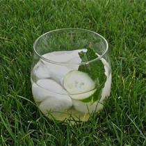 Homemade Cucumber Mint Soda