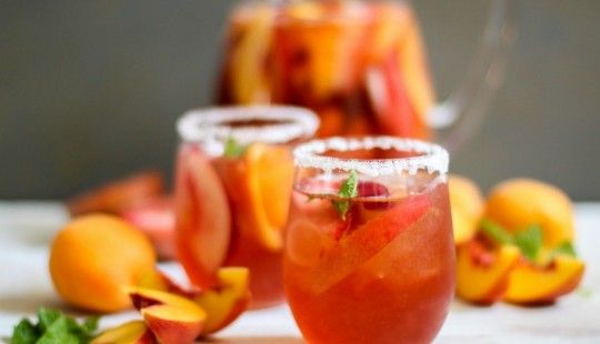 Stone+Fruit+Sangria | Food | Pinterest