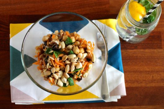 Moroccan carrot and chickpea salad | Salady goodness | Pinterest