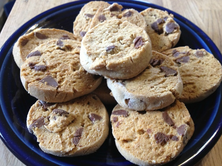 Slice and Bake Chocolate Chip Cookies | Texas Girl Cooks | Pinterest
