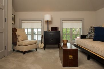 Ceiling And Wall Same Color Attic Skylights Pinterest