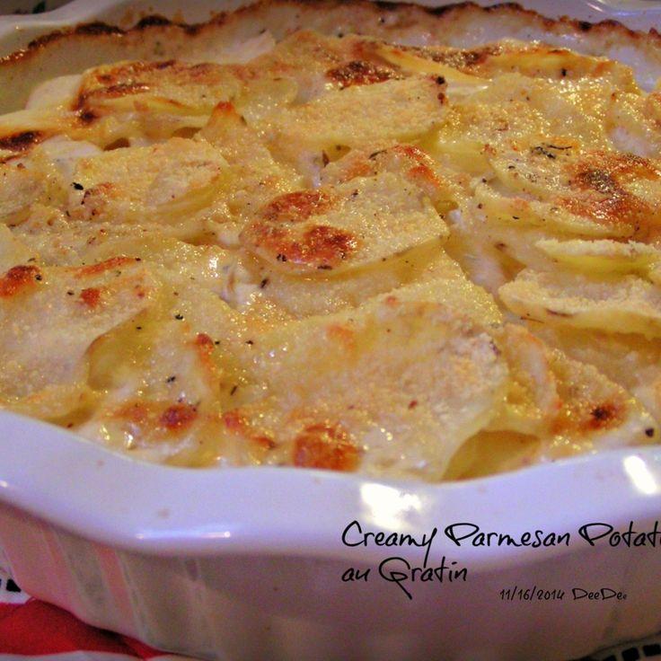 ... Pinch That | Creamy Parmesan Potatoes Au Gratin #recipe #Easter