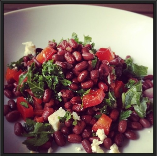 adzuki bean salad - the wholesome life | FOOOOD, glorious food | Pint ...