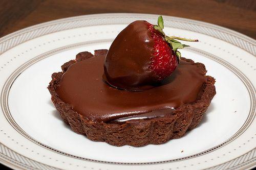 Chocolate Truffle Tarts | Desserts & Delicacies | Pinterest
