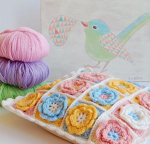 """I joined them with single crochet, which I learned while watching this Video Tutorial"""