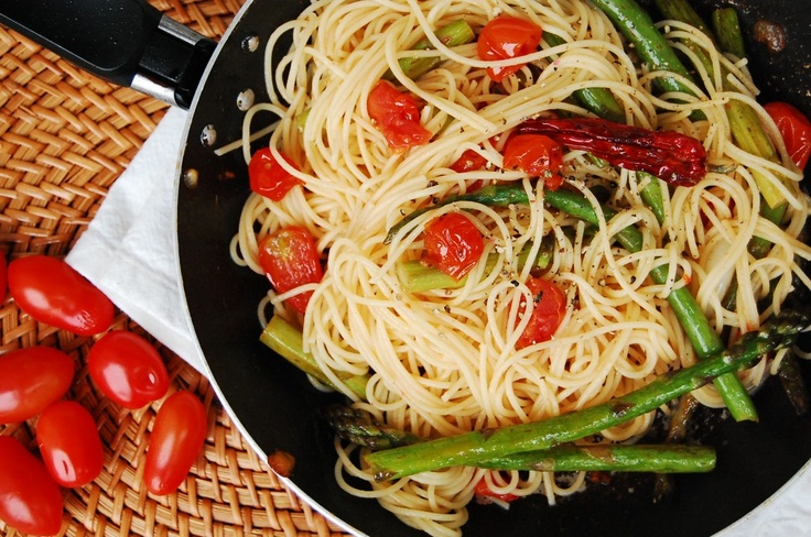 Pasta with Asparagus | Food, Glorious Food | Pinterest