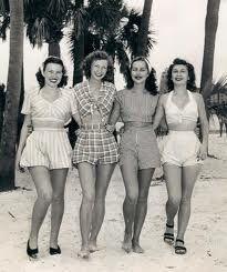 1940's Beach