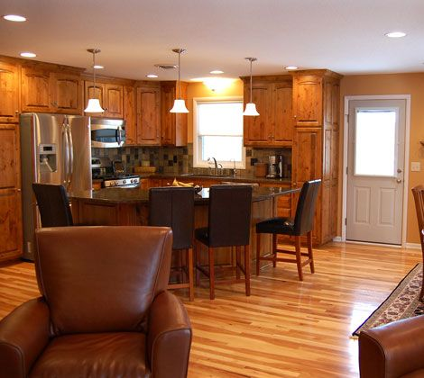 Kitchen Island Designs & Lighting: How to Build a Kitchen