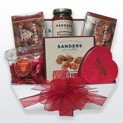 valentines day baskets for guys