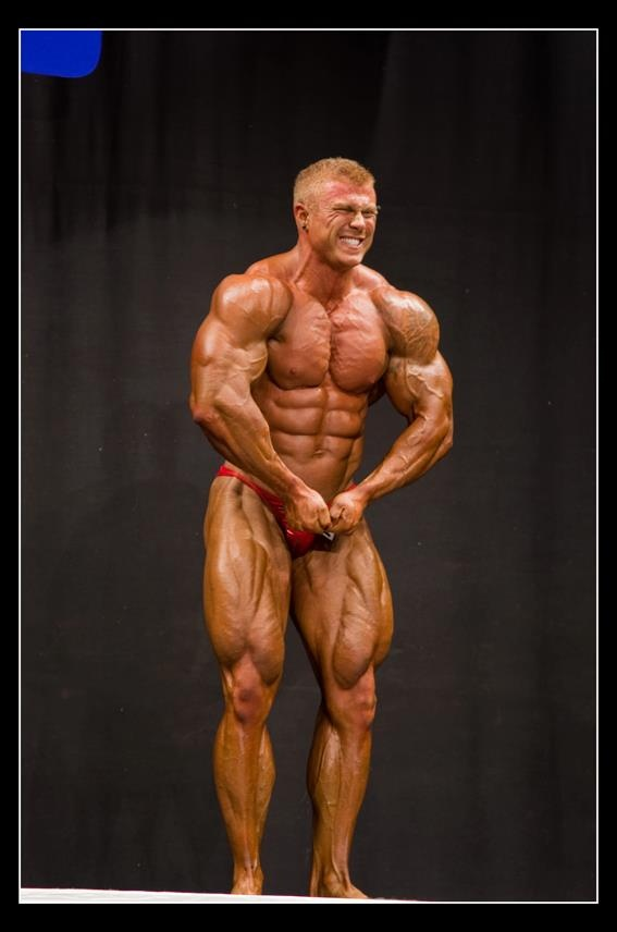 Bodybuilder Max O'Connor: In Competition