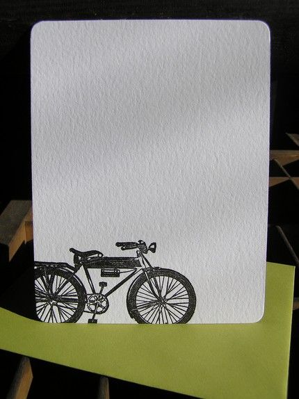 Vintage Bicycle Notecards