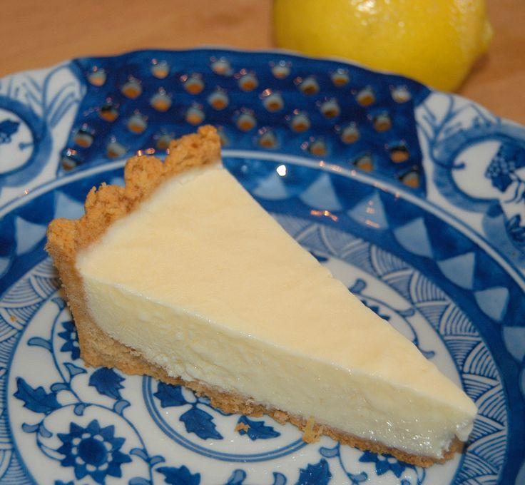 Lemon Ice Box Pie | THM-desserts...or breakfasts | Pinterest
