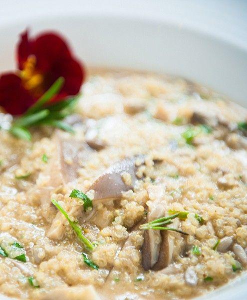 Quinoa risotto | healthy eats | Pinterest