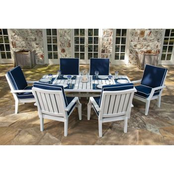 Costco seaview 7 piece patio dining set home and garden for Ensemble patio costco