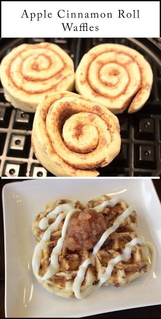 Apple Cinnamon Roll Waffles | Awesome Recipes | Pinterest