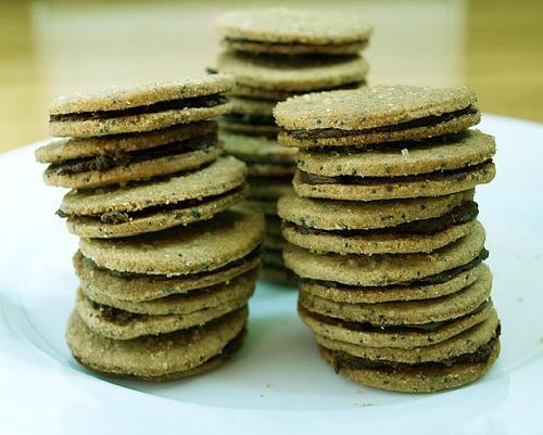 Brown Sugar Sandwich cookies. | gluten free/ Paleo | Pinterest