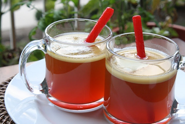 Hot Buttered Apple Cider Rum | Fantastic Fall/Happy Halloween | Pinte ...