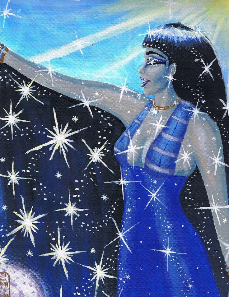 Nut: Egyptian Star and Sky Goddess | Myths and Legends | Pinterest