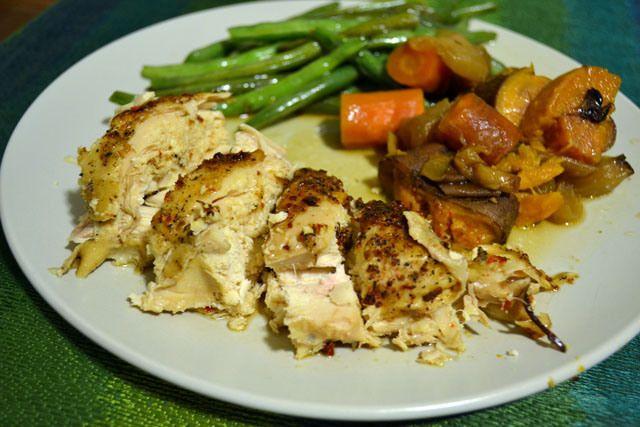 slow cooker roast chicken   Good Food   Pinterest